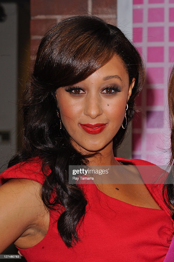 Actress Tamera Mowry leaves the 'Wendy Williams Show' taping at the AMV Studios on September 27 2011 in New York City