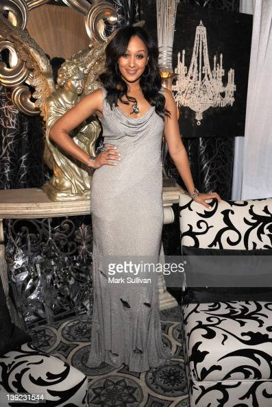 Actress Tamera MowryHousley in Backstage Creations Celebrity Retreat at 2012 NAACP Image Awards at The Shrine Auditorium on February 17 2012 in Los...