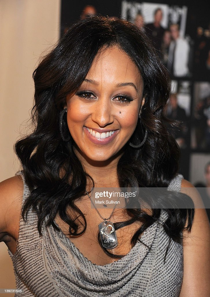 Actress Tamera Mowry-Housley in Backstage Creations Celebrity Retreat at 2012 NAACP Image Awards at The Shrine Auditorium on February 17, 2012 in Los Angeles, California.