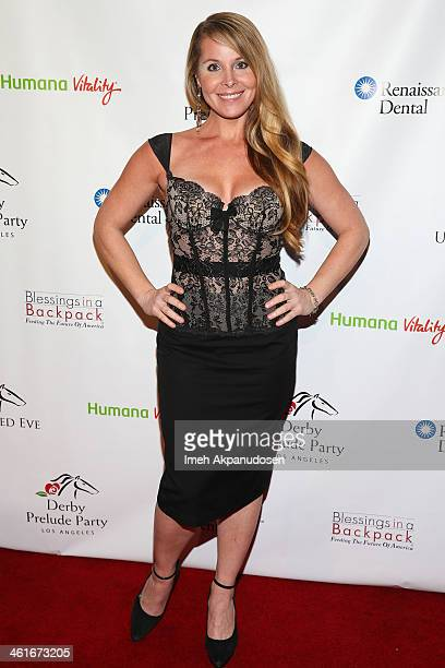 Actress Tami Erin attends the 5th Annual Los Angeles Unbridled Eve Derby Prelude Party at The London West Hollywood on January 9 2014 in West...