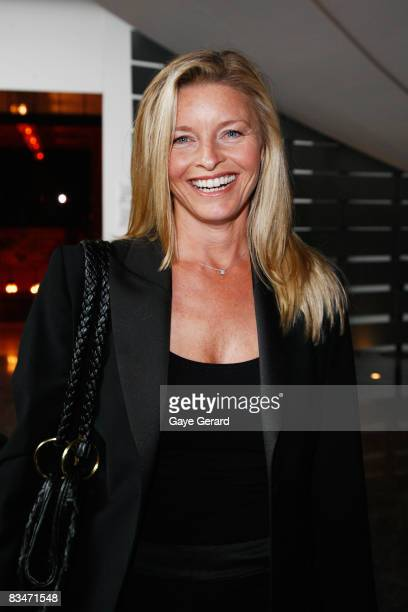 Actress Tammy Macintosh attends the announcement of the nominations for the L'Oreal Paris 2008 AFI Awards at the Sydney Theatre on October 29 2008 in...