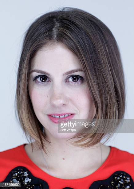 Actress Tammy Minoff poses for a portrait during the 2012 Sundance Film Festival at the WireImage Portrait Studio at TMobile Village at the Lift on...
