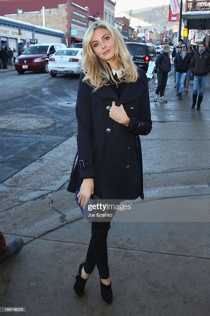 Actress Tamsin Egerton attends Day 1 of the Variety Studio at 2013 Sundance Film Festival on January 19, 2013 in Park City, Utah.