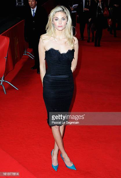 Actress Tamsin Egerton attends 'The Look Of Love' Premiere during the 63rd Berlinale International Film Festival at Friedrichstadtpalast on February...