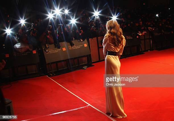 Actress Tamsin Egerton attends the Orange British Academy Film Awards 2010 at the Royal Opera House on February 21 2010 in London England