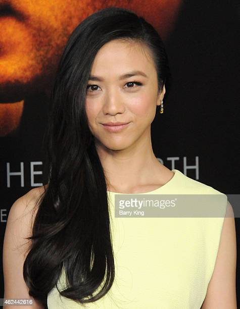 Actress Tang Wei aka Wei Tang arrives at the Los Angeles Premiere of 'Blackhat' at TCL Chinese Theatre IMAX on January 8 2015 in Hollywood California