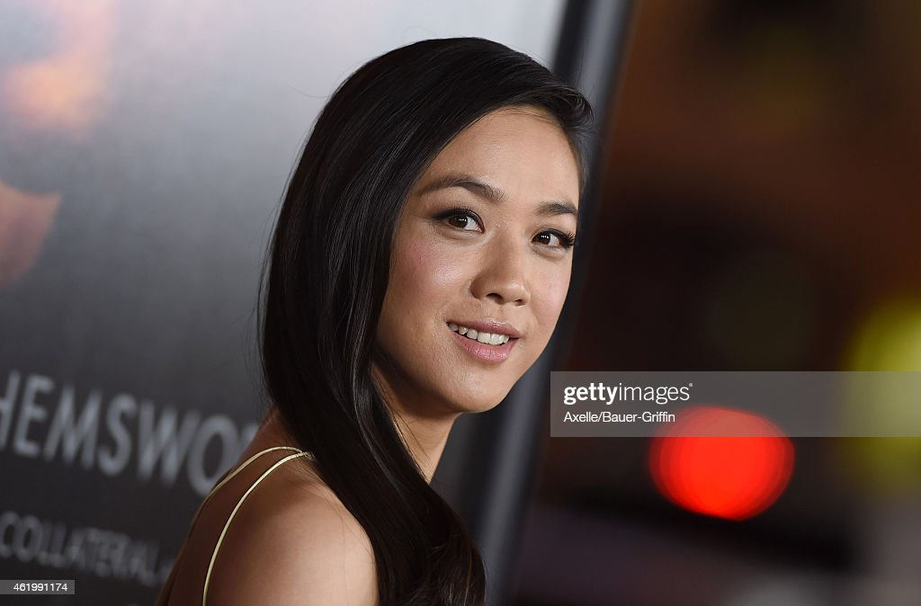 Actress Tang Wei arrives at the Los Angeles premiere of 'Blackhat' at TCL Chinese Theatre IMAX on January 8 2015 in Hollywood California