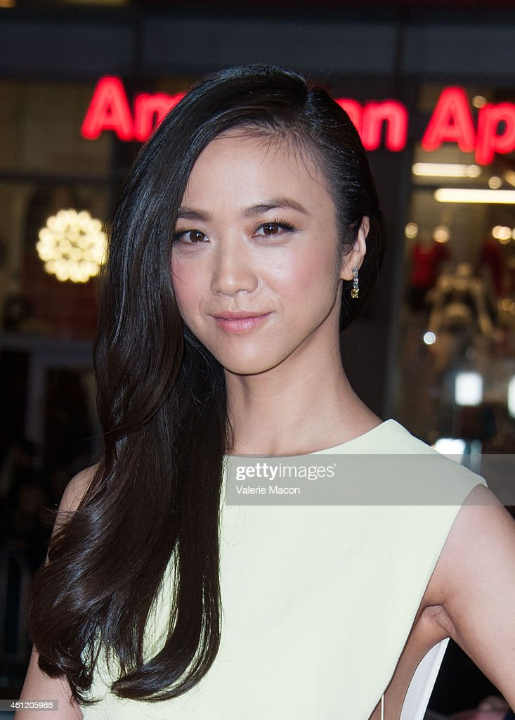 Actress <a gi-track='captionPersonalityLinkClicked' href=/galleries/search?phrase=Tang+Wei&family=editorial&specificpeople=4329520 ng-click='$event.stopPropagation()'>Tang Wei</a> arrives at the Premiere Of Universal Pictures And Legendary Pictures' 'Blackhat' at TCL Chinese Theatre IMAX on January 8, 2015 in Hollywood, California.