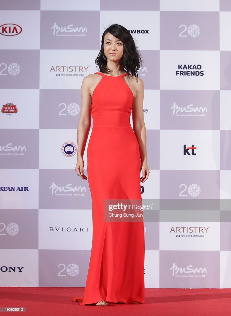 Actress <a gi-track='captionPersonalityLinkClicked' href=/galleries/search?phrase=Tang+Wei&family=editorial&specificpeople=4329520 ng-click='$event.stopPropagation()'>Tang Wei</a> arrives for the opening ceremony of the 20th Busan International Film Festival (BIFF) on October 1, 2015 in Busan, South Korea. The biggest film festival in Asia showcases 304 films from 75 countries and runs from October 1-10.