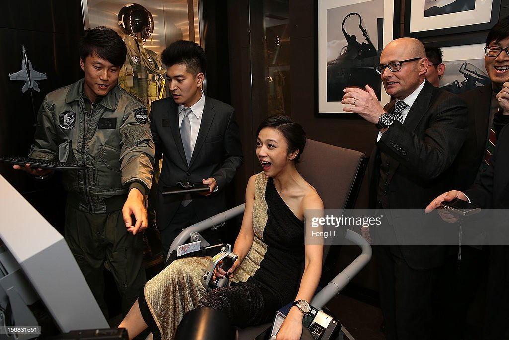 Actress <a gi-track='captionPersonalityLinkClicked' href=/galleries/search?phrase=Tang+Wei&family=editorial&specificpeople=4329520 ng-click='$event.stopPropagation()'>Tang Wei</a> at the IWC Flagship Boutique Opening on November 22, 2012 in Beijing, China.