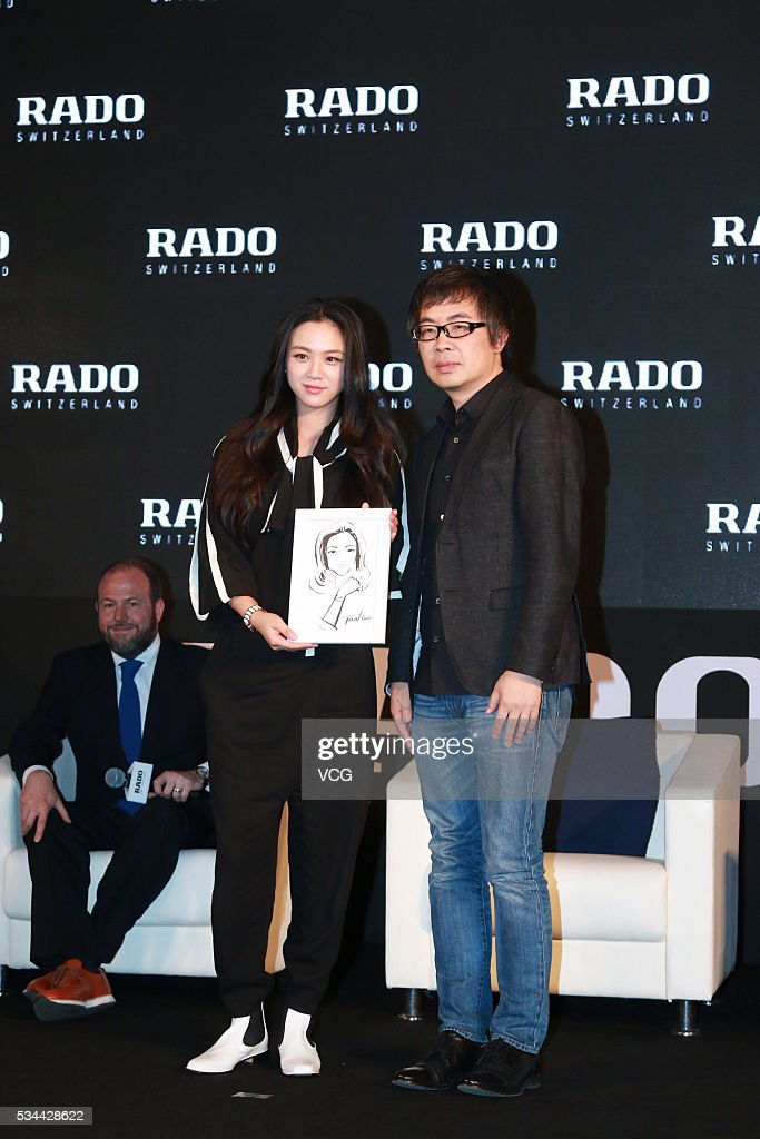 Actress <a gi-track='captionPersonalityLinkClicked' href=/galleries/search?phrase=Tang+Wei&family=editorial&specificpeople=4329520 ng-click='$event.stopPropagation()'>Tang Wei</a> attends RADO wristwatch activity on May 26, 2016 in Beijing, China.