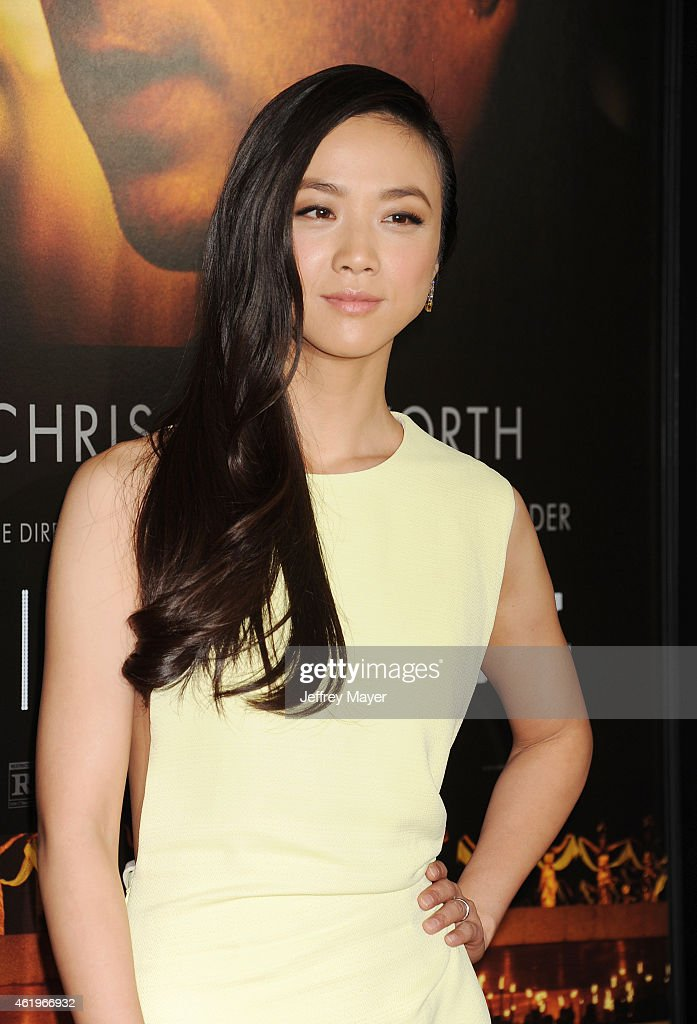 Actress Tang Wei attends the 'Black Hat' Los Angeles premiere held at the TCL Chinese Theatre IMAX on January 8 2015 in Hollywood California