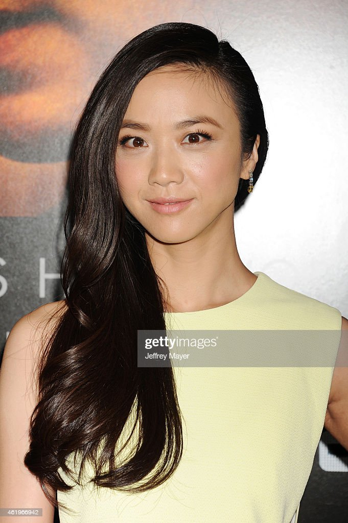 Actress <a gi-track='captionPersonalityLinkClicked' href=/galleries/search?phrase=Tang+Wei&family=editorial&specificpeople=4329520 ng-click='$event.stopPropagation()'>Tang Wei</a> attends the 'Black Hat' Los Angeles premiere held at the TCL Chinese Theatre IMAX on January 8, 2015 in Hollywood, California.