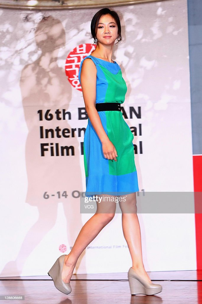 Actress Tang Wei attends the Gala Presentation 'Wu Xia' press conference at Shinsegae Centum city during the 16th Busan International Film Festival (BIFF) on October 9, 2011 in Busan, South Korea.