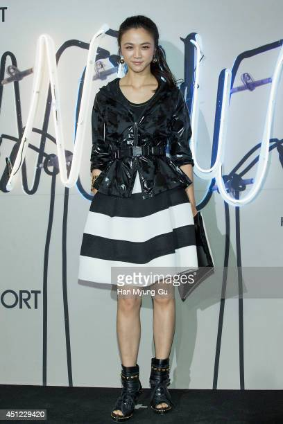 Actress Tang Wei from China attends the Kolon Sport 2014 A/W fashion show on June 25 2014 in Seoul South Korea