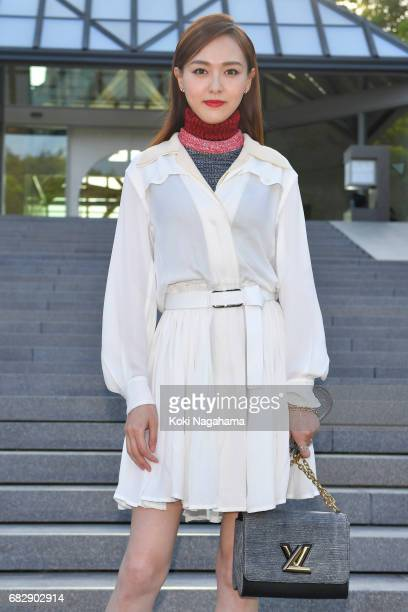 Actress Tang Yan attends the Louis Vuitton Resort 2018 show at the Miho Museum on May 14 2017 in Koka Japan
