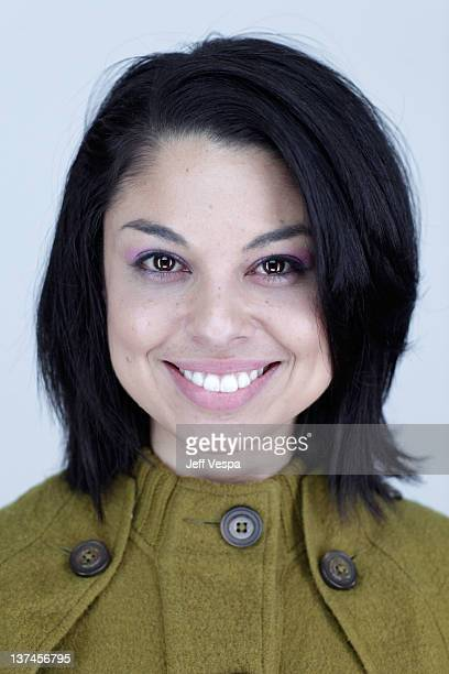 Actress Tania Verafield poses for a portrait during the 2012 Sundance Film Festival at the WireImage Portrait Studio at TMobile Village at the Lift...