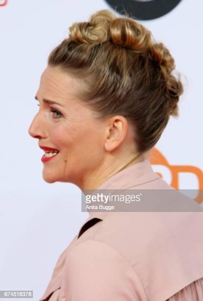 Actress Tanja Wedhorn attends the Lola German Film Award winners board at Messe Berlin on April 28 2017 in Berlin Germany
