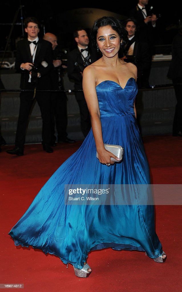 Actress Tannishtha Chatterjee attends the 'Monsoon Shootout' Premiere during the 66th Annual Cannes Film Festival at the Palais des Festivals on May 18, 2013 in Cannes, France.