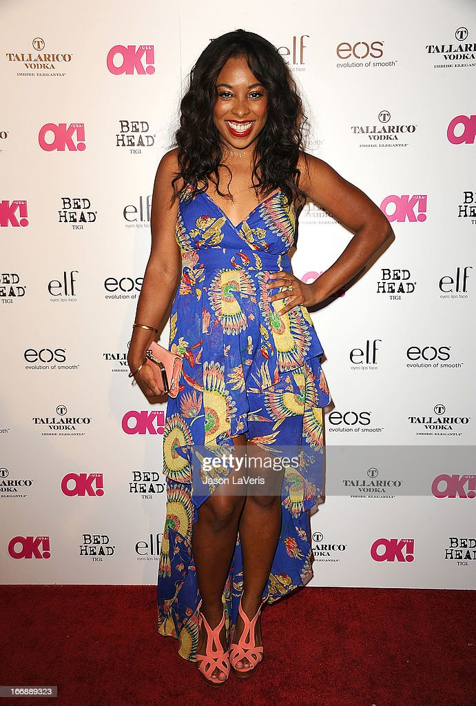 Actress Tanya Chisholm attends OK! Magazine's annual 'So Sexy' party at SkyBar at the Mondrian Los Angeles on April 17, 2013 in West Hollywood, California.