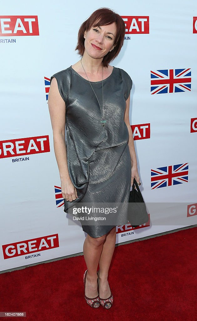 Actress Tanya Franks attends the GREAT British Film Reception at the British Consul General's Residence on February 22, 2013 in Los Angeles, California.