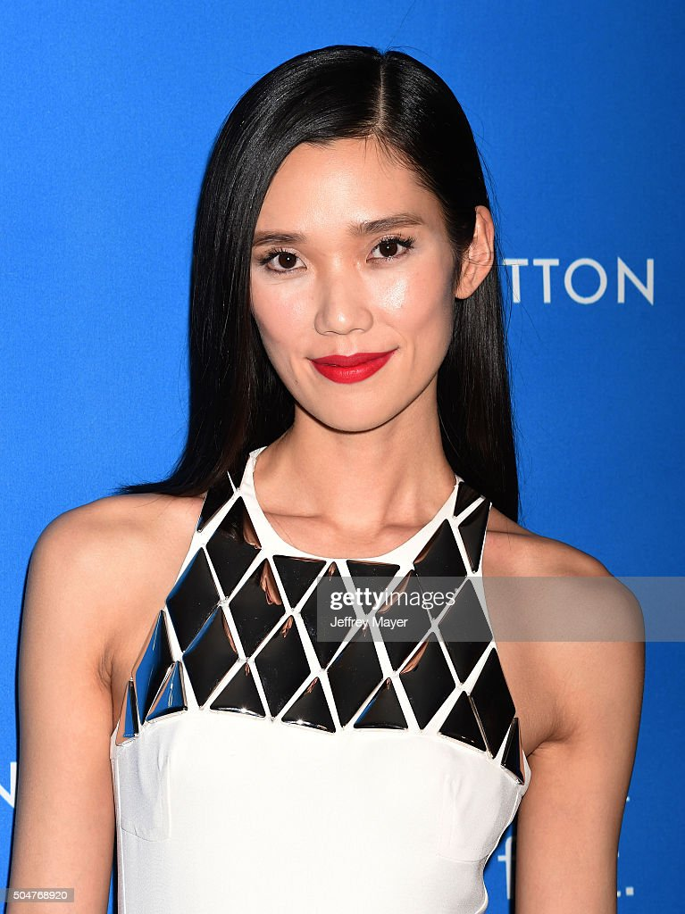 Actress Tao Okamoto arrives at the 6th Biennial UNICEF Ball at the Beverly Wilshire Four Seasons Hotel on January 12 2016 in Beverly Hills California