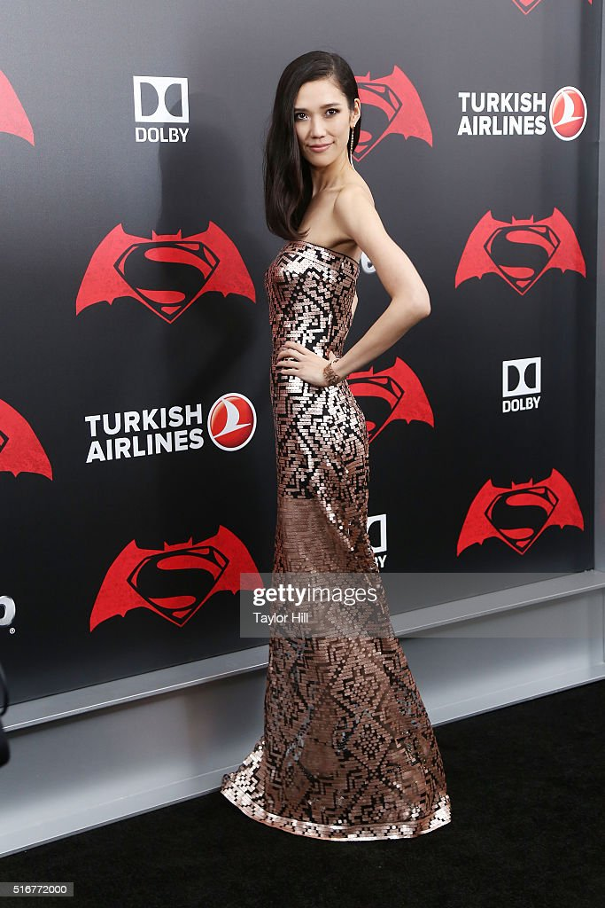 Actress Tao Okamoto attends the 'Batman v Superman Dawn of Justice' premiere at Radio City Music Hall on March 20 2016 in New York City