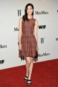 Actress Tao Okamoto attends the Max Mara and W Magazine cocktail party to honor the Women In Film Max Mara Face of the Future Awards recipient Hailee...