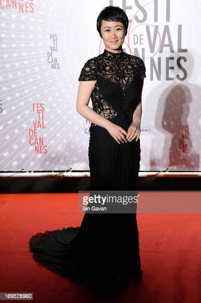 Actress Tao Zhao attendst he Palme D'Or Winners dinner during The 66th Annual Cannes Film Festival at Agora on May 26 2013 in Cannes France