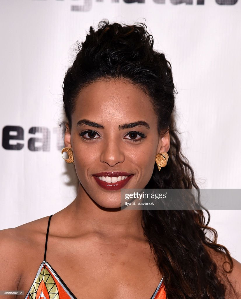 Actress Tara A. Nicolas attends 'The Liquid Plane' Opening Night Party at Signature Theatre Company's The Pershing Square Signature Center on March 8, 2015 in New York City.