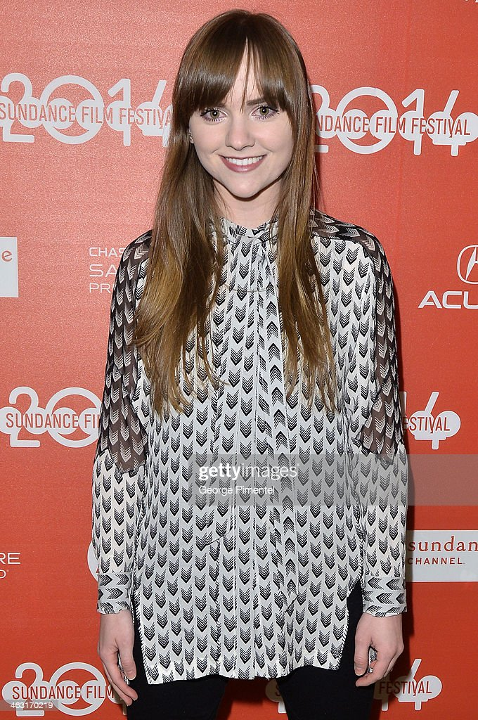Actress Tara Barr attends the premiere of 'The Dawn' at the Egyptian Theatre during the 2014 Sundance Film Festival on January 16, 2014 in Park City, Utah.