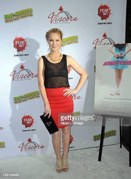 Actress Tara Buck arrives for the cast/crew Screening Of 'Among Friends' held at the Jon Lovitz Comedy Club on April 17 2012 in Universal City...