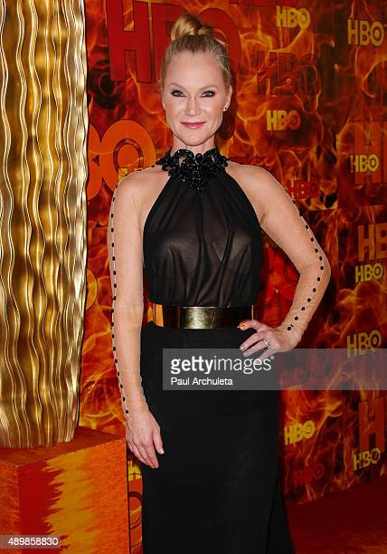 Actress Tara Buck attends HBO's official 2015 Emmy After Party at The Plaza at the Pacific Design Center on September 20 2015 in Los Angeles...