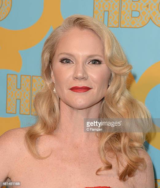 Actress Tara Buck attends HBO's Official Golden Globe Awards After Party at The Beverly Hilton Hotel on January 11 2015 in Beverly Hills California
