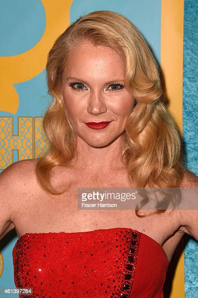 Actress Tara Buck attends HBO's Post 2015 Golden Globe Awards Party at Circa 55 Restaurant on January 11 2015 in Los Angeles California