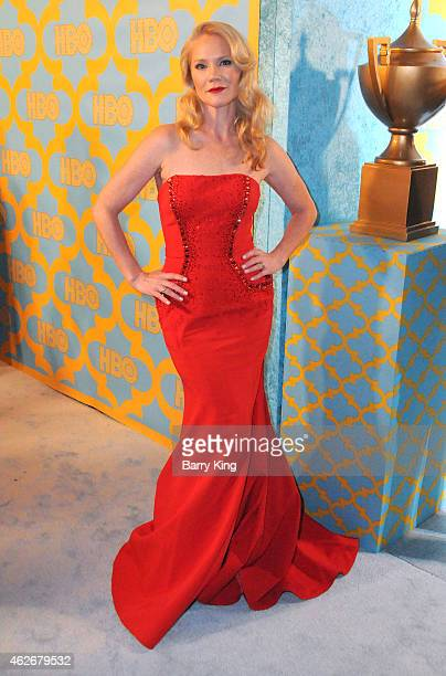 Actress Tara Buck attends HBO's post Golden Globe Awards party at The Beverly Hilton Hotel on January 11 2015 in Beverly Hills California