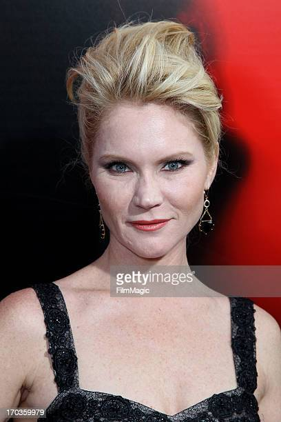 Actress Tara Buck attends HBO's 'True Blood' season 6 premiere at ArcLight Cinemas Cinerama Dome on June 11 2013 in Hollywood California