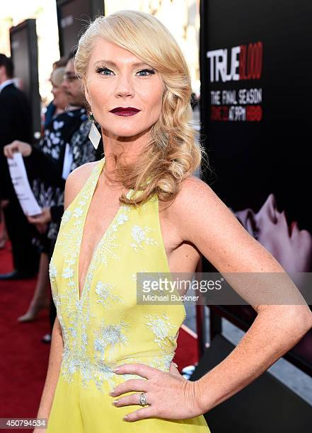 Actress Tara Buck attends Premiere Of HBO's 'True Blood' Season 7 And Final Season at TCL Chinese Theatre on June 17 2014 in Hollywood California