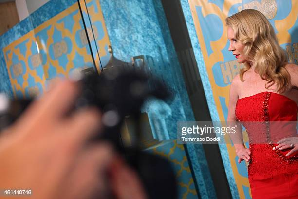 Actress Tara Buck attends the HBO'S Post Golden Globe Party held at The Beverly Hilton Hotel on January 11 2015 in Beverly Hills California