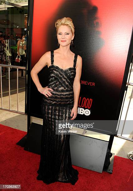Actress Tara Buck attends the premiere of HBO's 'True Blood' at ArcLight Cinemas Cinerama Dome on June 11 2013 in Hollywood California