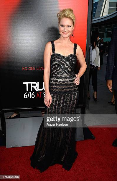 Actress Tara Buck attends the premiere of HBO's 'True Blood' Season 6 at ArcLight Cinemas Cinerama Dome on June 11 2013 in Hollywood California