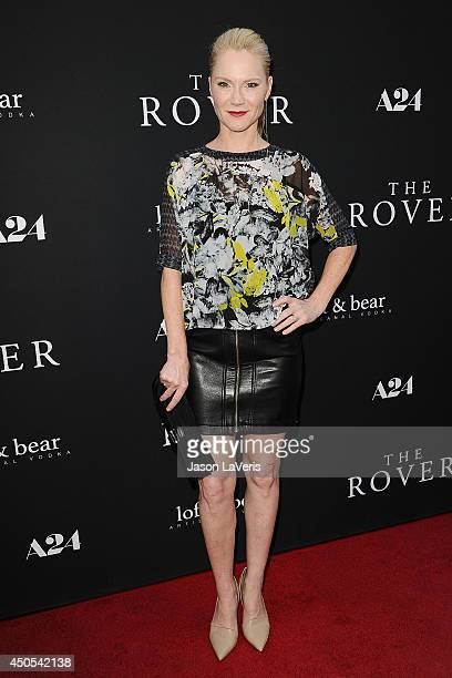 Actress Tara Buck attends the premiere of 'The Rover' at Regency Bruin Theatre on June 12 2014 in Los Angeles California