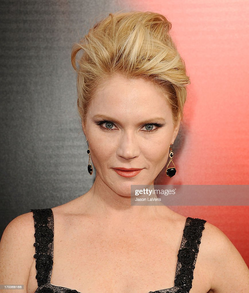 Actress Tara Buck attends the season 6 premiere of HBO's 'True Blood' at ArcLight Cinemas Cinerama Dome on June 11, 2013 in Hollywood, California.