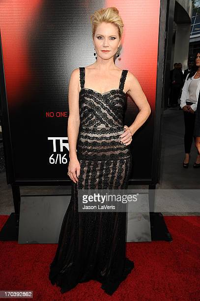 Actress Tara Buck attends the season 6 premiere of HBO's 'True Blood' at ArcLight Cinemas Cinerama Dome on June 11 2013 in Hollywood California