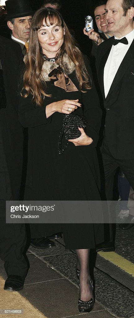 Actress, Tara Fitzgerald arrives at the annual 'Evening Standard Film Awards 2005' at The Savoy on February 6, 2005 in London, England.