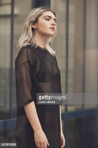 Actress Tara Lee is photographed for Self Assignment on October 1 2016 in Dinard France