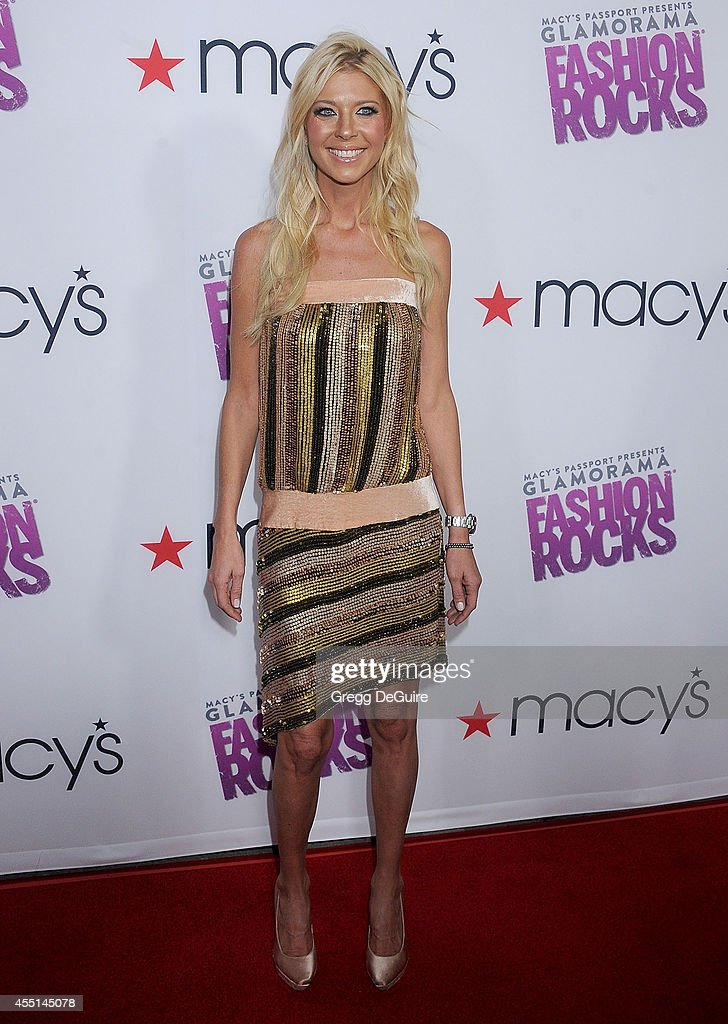 Actress <a gi-track='captionPersonalityLinkClicked' href=/galleries/search?phrase=Tara+Reid&family=editorial&specificpeople=202160 ng-click='$event.stopPropagation()'>Tara Reid</a> arrives at Macy's Passport Glamorama 'Fashion Rocks' at Create Nightclub on September 9, 2014 in Los Angeles, California.