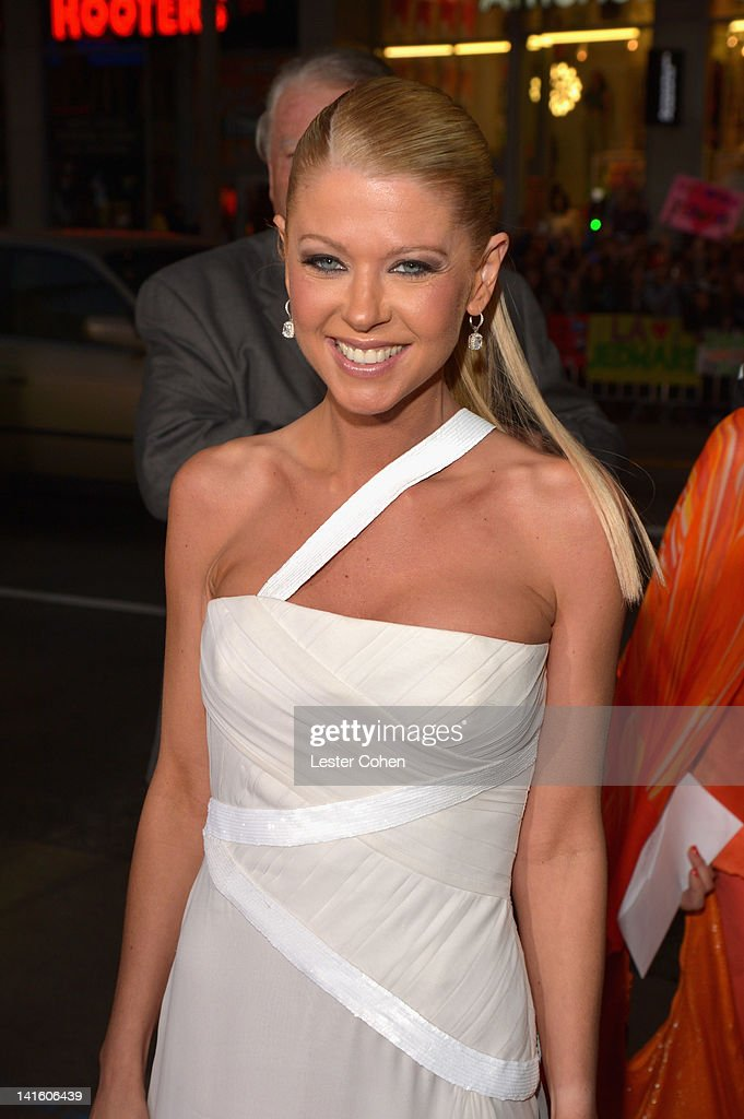 Actress Tara Reid arrives at the 'American Reunion' Los Angeles Premiere March 19 2012 in Hollywood California