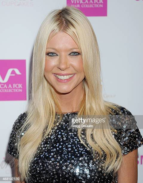 Actress Tara Reid arrives at the Vivica A Fox 50th Birthday party at Philippe Chow on August 2 2014 in Beverly Hills California