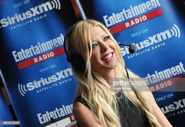 Actress Tara Reid attends SiriusXM's Entertainment Weekly Radio Channel Broadcasts From ComicCon 2015 at Hard Rock Hotel San Diego on July 10 2015 in...